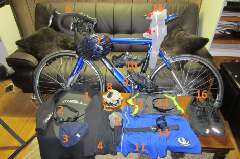 triathlon equipement